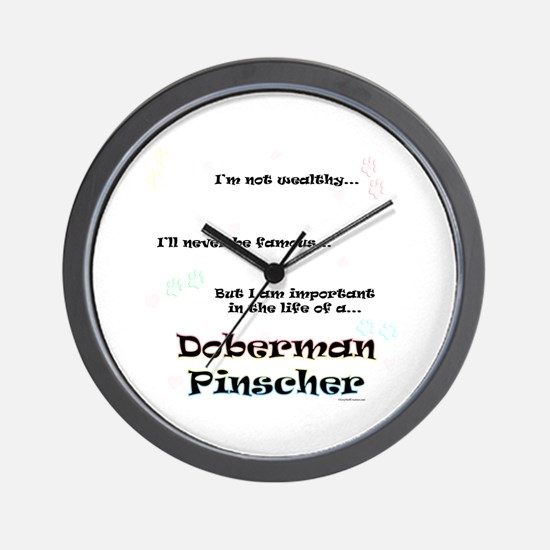 Dobie Life Wall Clock