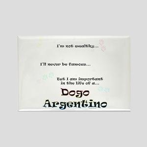 Dogo Life Rectangle Magnet