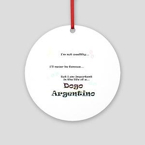 Dogo Life Ornament (Round)