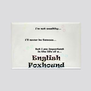 English Fox Life Rectangle Magnet