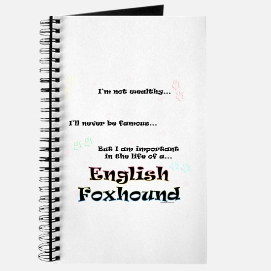 English Fox Life Journal