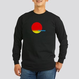 Ayanna Long Sleeve Dark T-Shirt