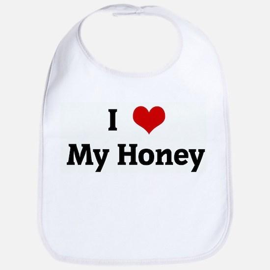 I Love My Honey Bib