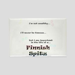 Finnish Spitz Life Rectangle Magnet