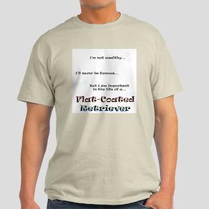 Flat-Coated Life Light T-Shirt