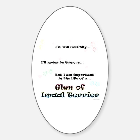 Imaal Life Oval Decal