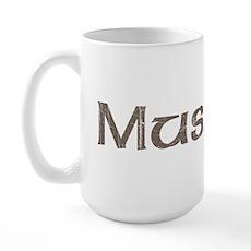 Vintage Muslim Large Mug