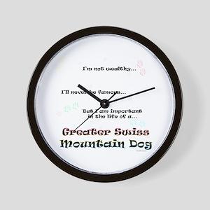 Swissy Life Wall Clock