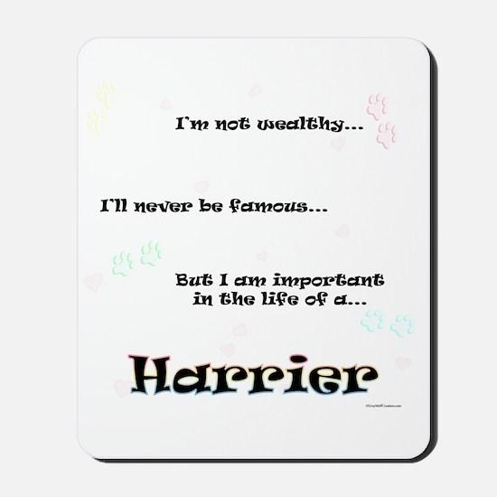 Harrier Life Mousepad