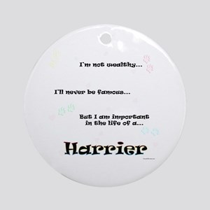 Harrier Life Ornament (Round)