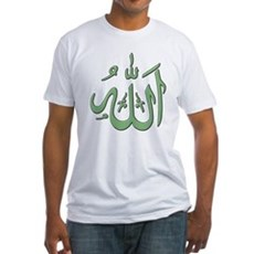 Allah Fitted T-Shirt