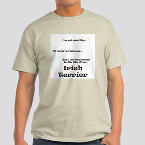 Irish Terrier Life Light T-Shirt
