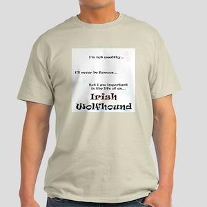 Irish Wolfhound Life Light T-Shirt