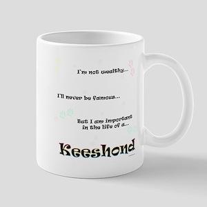 Keeshond Life Mug