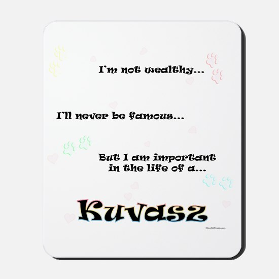 Kuvasz Life Mousepad