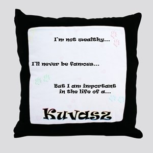 Kuvasz Life Throw Pillow