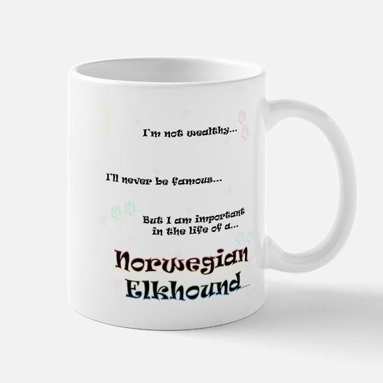 Elkhound Life Mug
