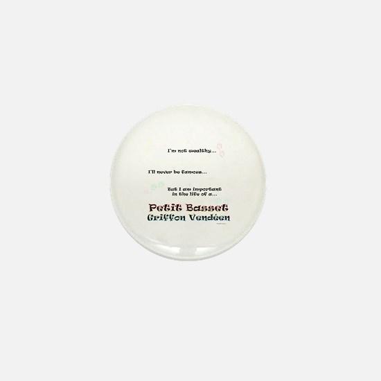 PBGV Life Mini Button