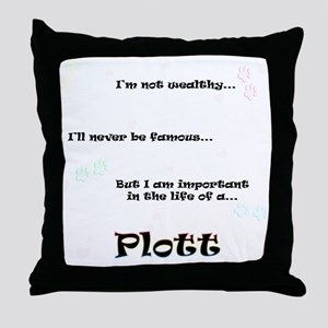 Plott Life Throw Pillow