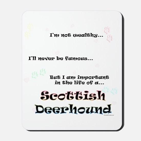 Deerhound Life Mousepad