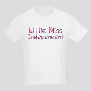 Little Miss Independent Kids Light T-Shirt