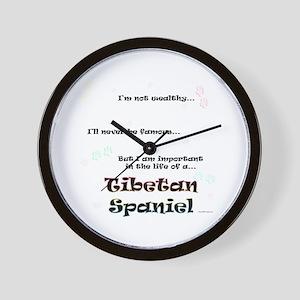 Tibbie Life Wall Clock