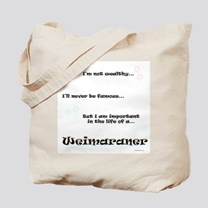 Weimaraner Life Tote Bag