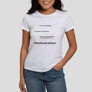 Weimaraner Life Women's T-Shirt