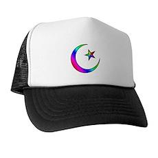 Rainbow Islamic Symbol Trucker Hat