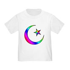 Rainbow Islamic Symbol Toddler T-Shirt