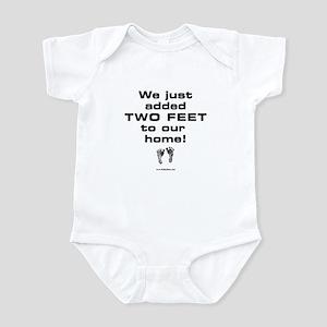 Two Feet... Infant Bodysuit