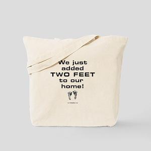 Two Feet... Tote Bag