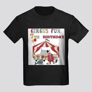 Circus Fun 7th Birthday T-Shirt