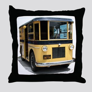 Helaine's Helms Truck Throw Pillow