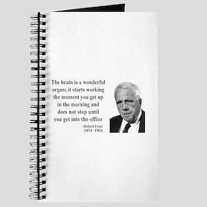 Robert Frost Quote 7 Journal