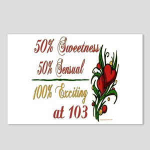 Exciting 103rd Postcards (Package of 8)