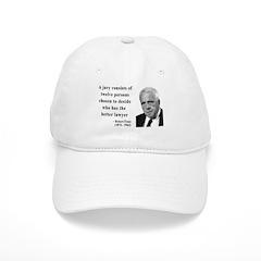 Robert Frost Quote 6 Baseball Cap