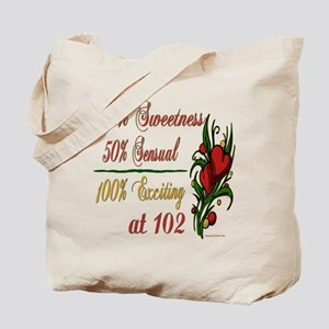 Exciting 102nd Tote Bag