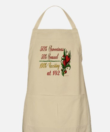 Exciting 102nd BBQ Apron