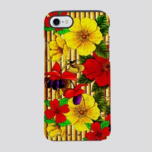 Bamboo Flowers iPhone 8/7 Tough Case