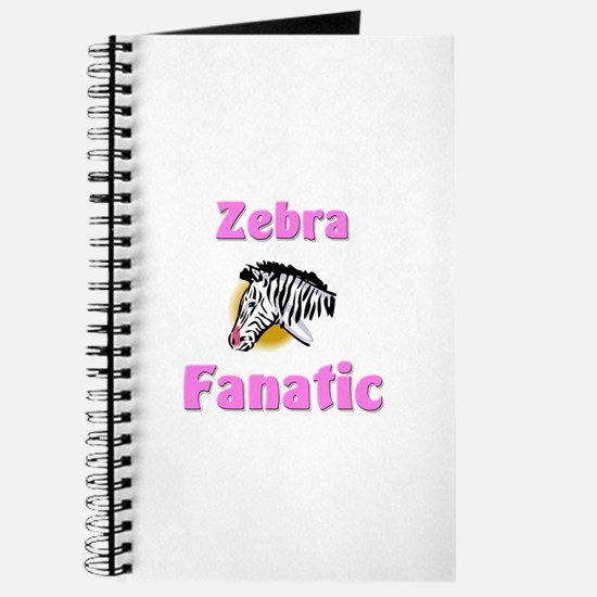 Zebra Fanatic Journal