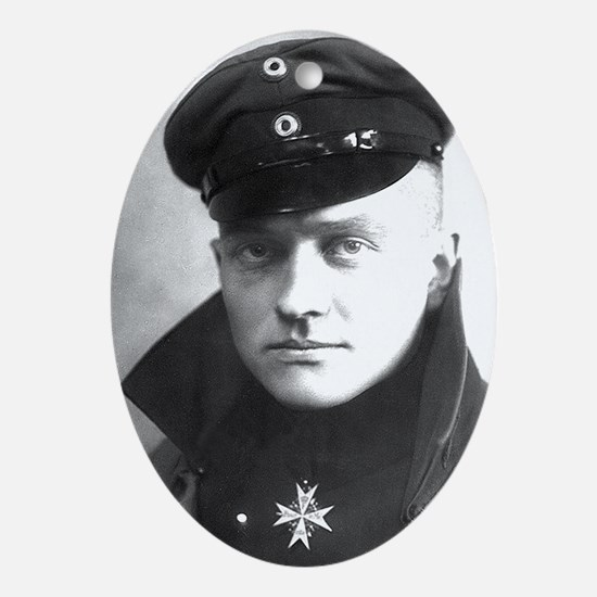 The Red Baron - Manfred von Richthofen Ornament (O
