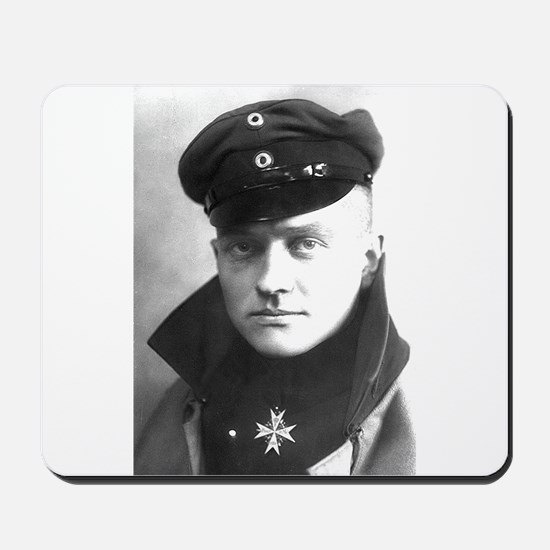 The Red Baron - Manfred von Richthofen Mousepad