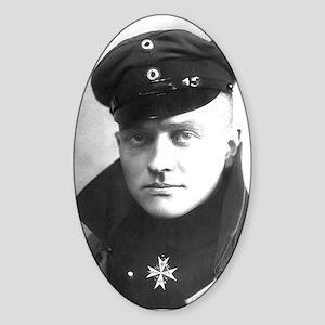 The Red Baron - Manfred von Richthofen Sticker (Ov