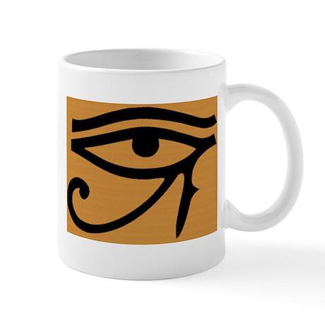 Mug: Egyptian Eye: Horus Ra- Magick Cup
