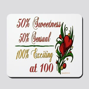 Exciting 100th Mousepad