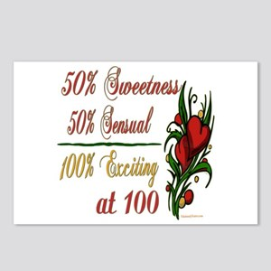 Exciting 100th Postcards (Package of 8)