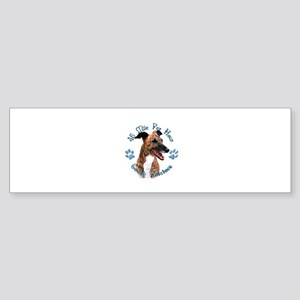 Brindle Couch Bumper Sticker