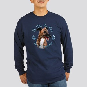 Brindle Couch Long Sleeve Dark T-Shirt