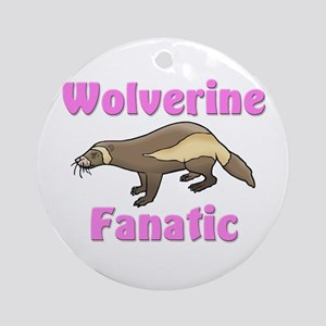 Wolverine Fanatic Ornament (Round)